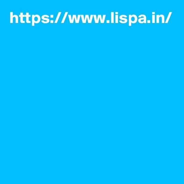 https://www.lispa.in/