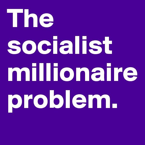 The socialist millionaire problem.