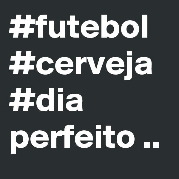 #futebol #cerveja #dia perfeito ..