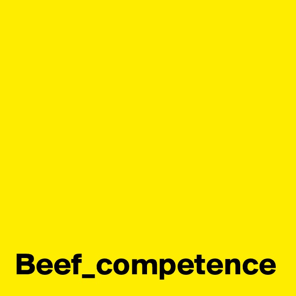 Beef_competence