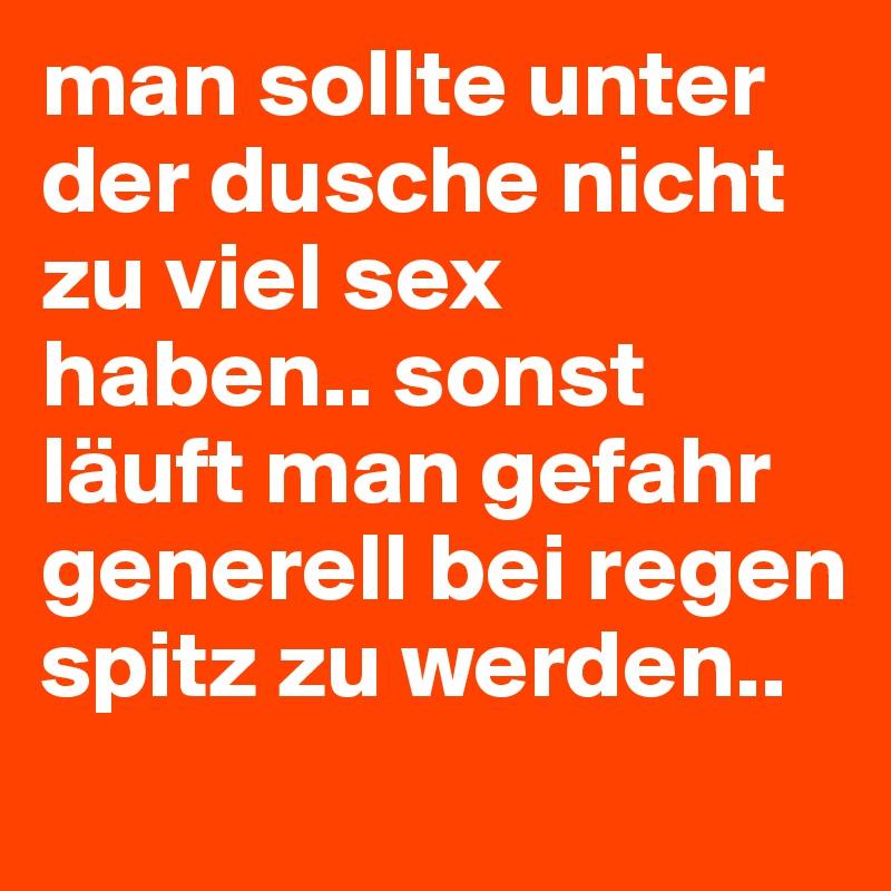 viel Sex