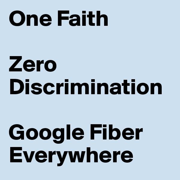 discrimination everywhere