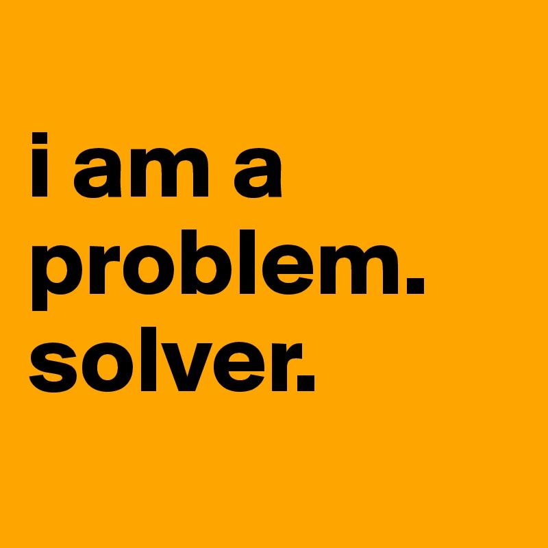Write a problem