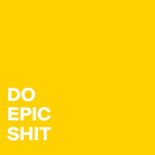 Write Epic Shit Motivational Quote- Gift for Writer ... |Write Epic Shit