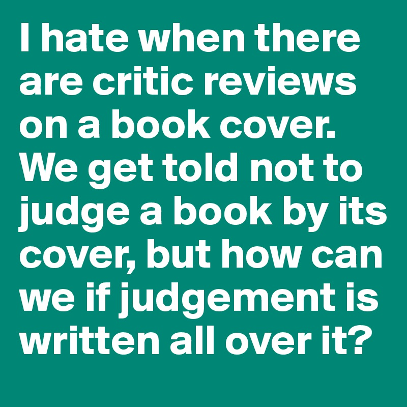 What is a critique of a book