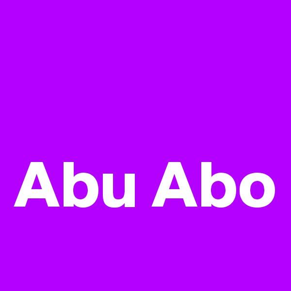 Abu Abo