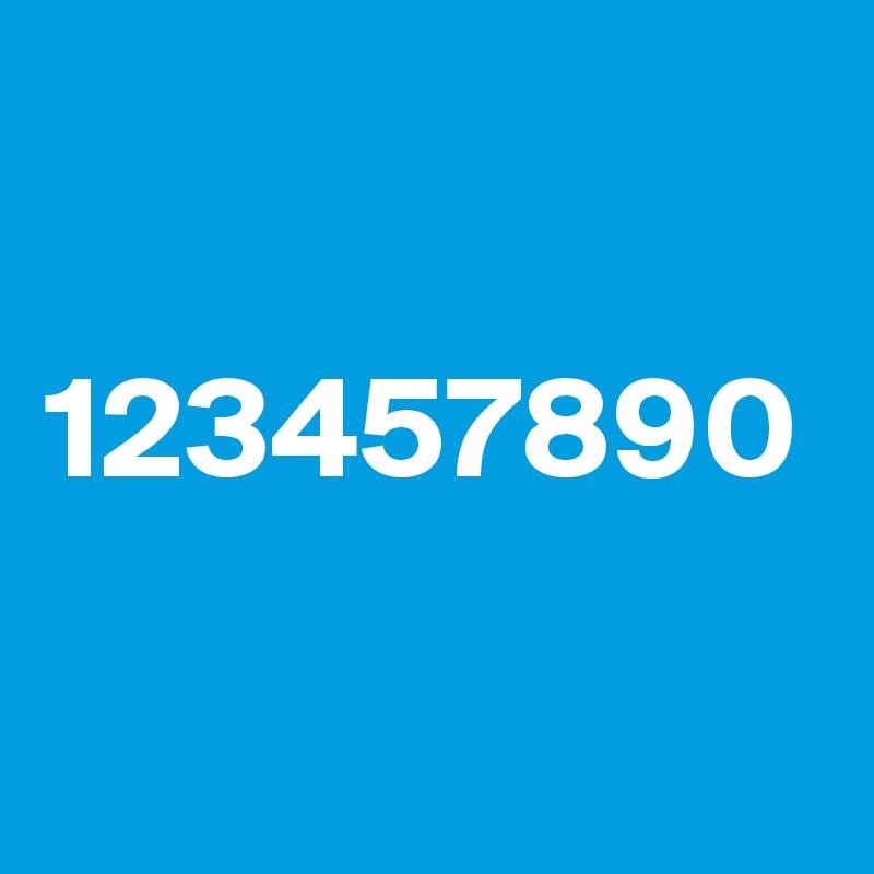 123457890