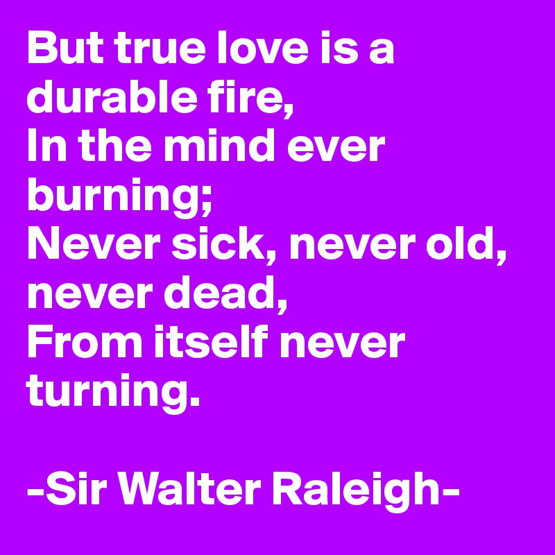 Durable Fire