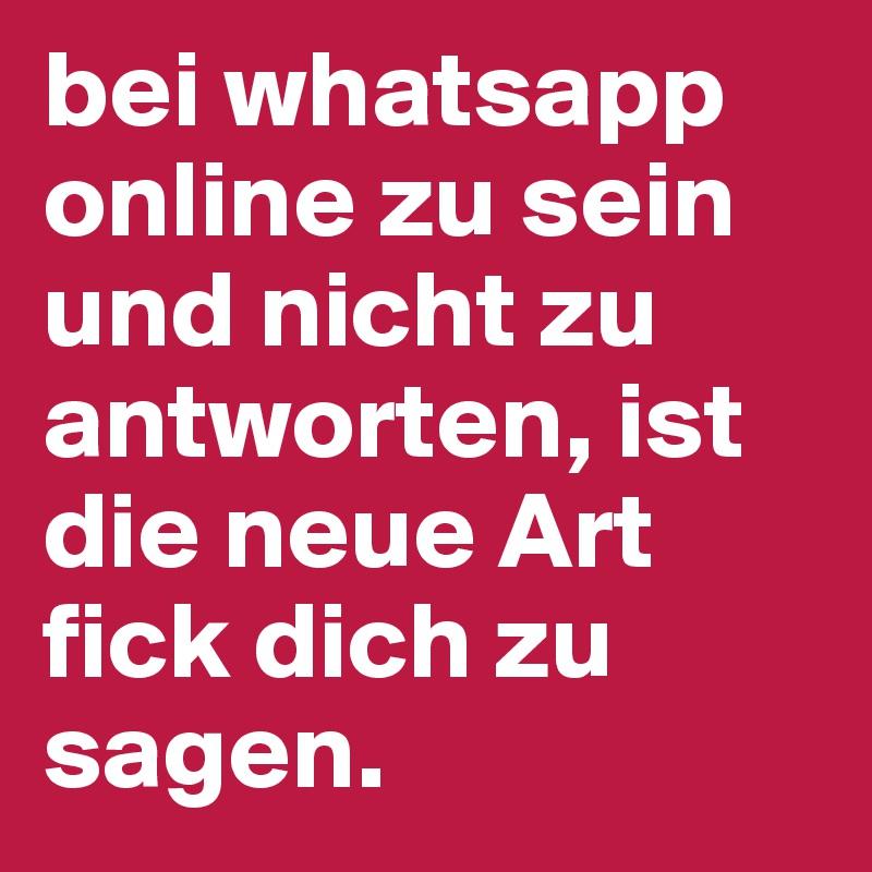 Whatsapp nachrichten lesen und nicht antworten