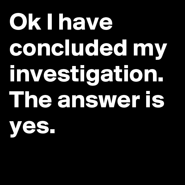 Ok I have concluded my investigation. The answer is yes.