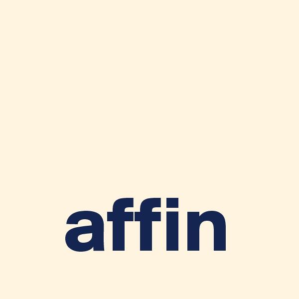 affin