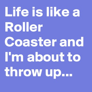 life is like a roller coaster essays Rosy esparza was riding the texas giant roller coaster with her  10 roller coaster safety tips that could save your life  to prevent a tragedy like this.