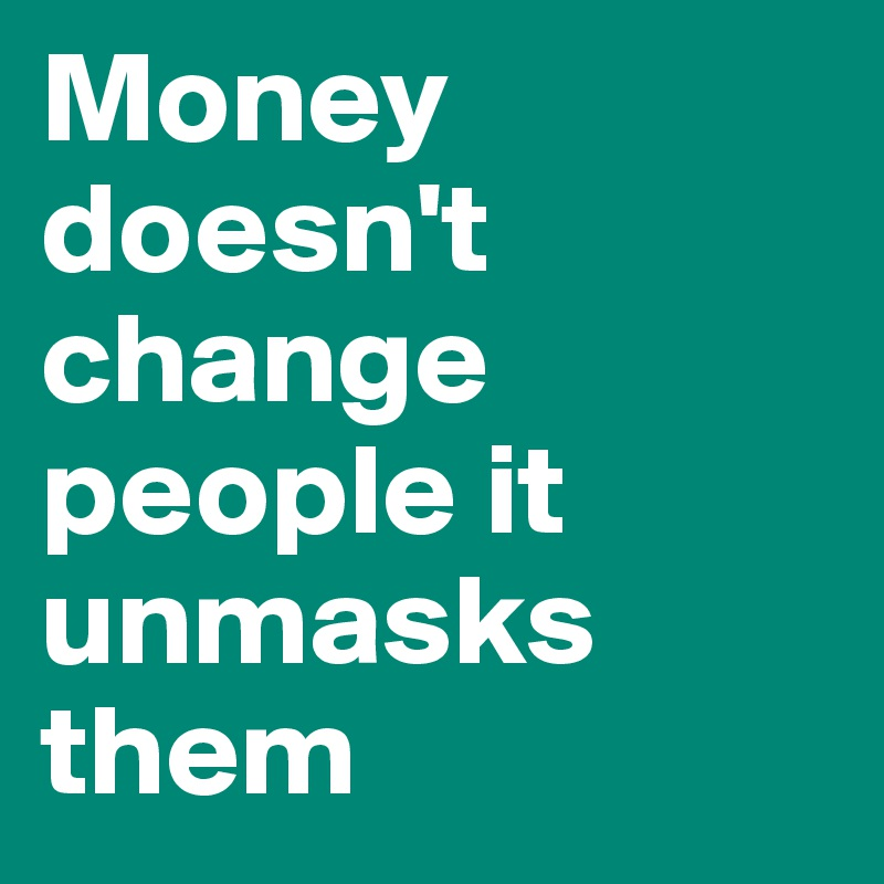 money changes people The stock of money people hold to take advantage of expected future changes in price of bonds, stocks, or other nonmoney assets.