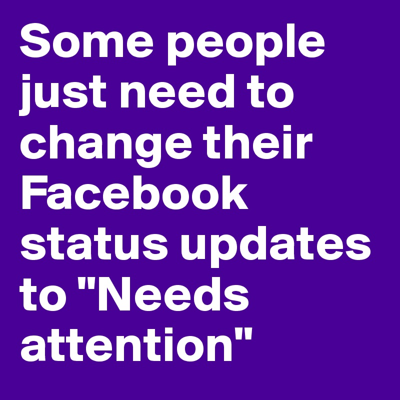 how to change status in facebook