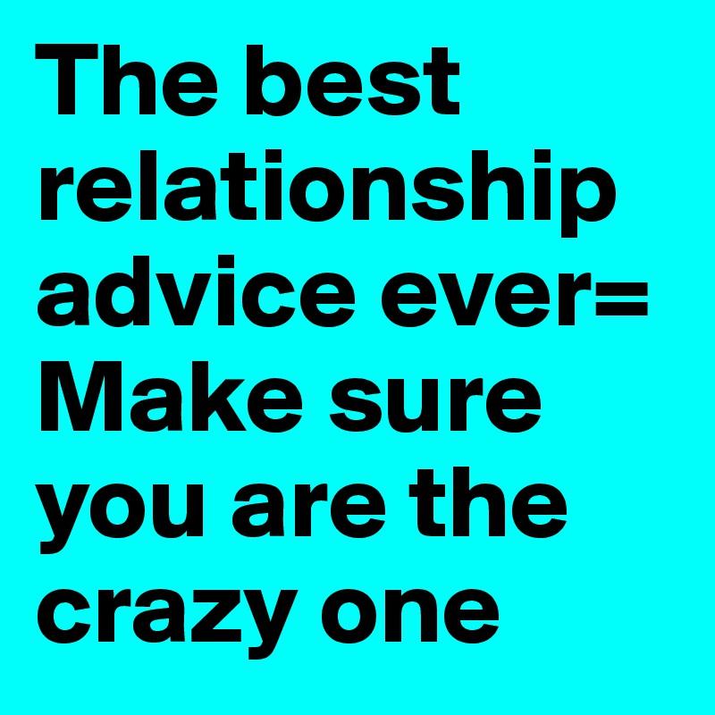 best relationship advice