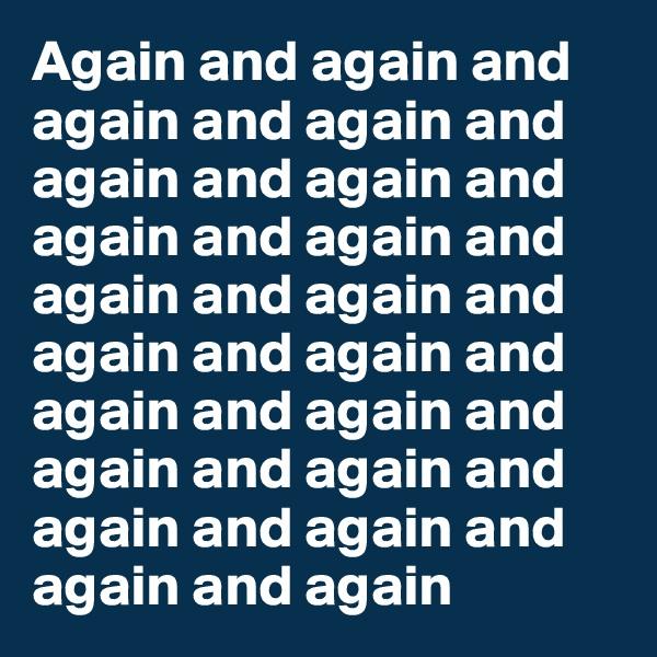 Again and again and again and again and again and again and again and again and again and again and again and again and again and again and again and again and again and again and again and again