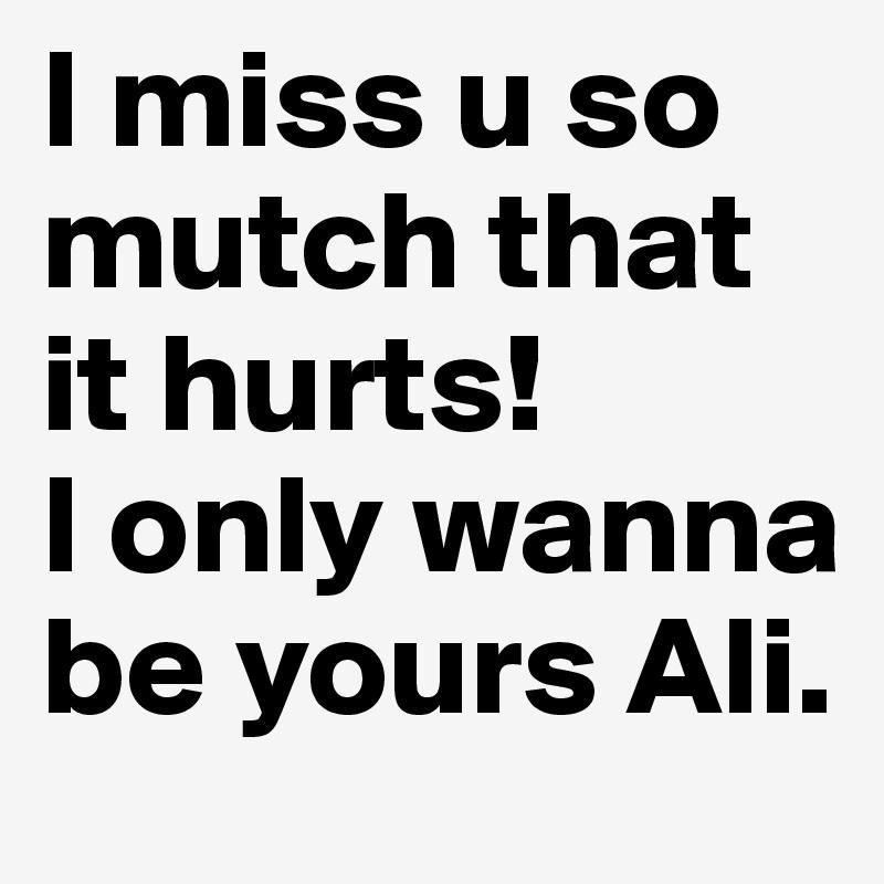 where do u go i miss u so