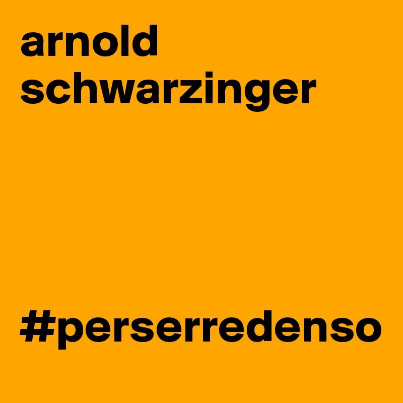 arnold schwarzinger     #perserredenso
