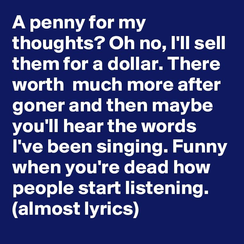 I ll be listening lyrics
