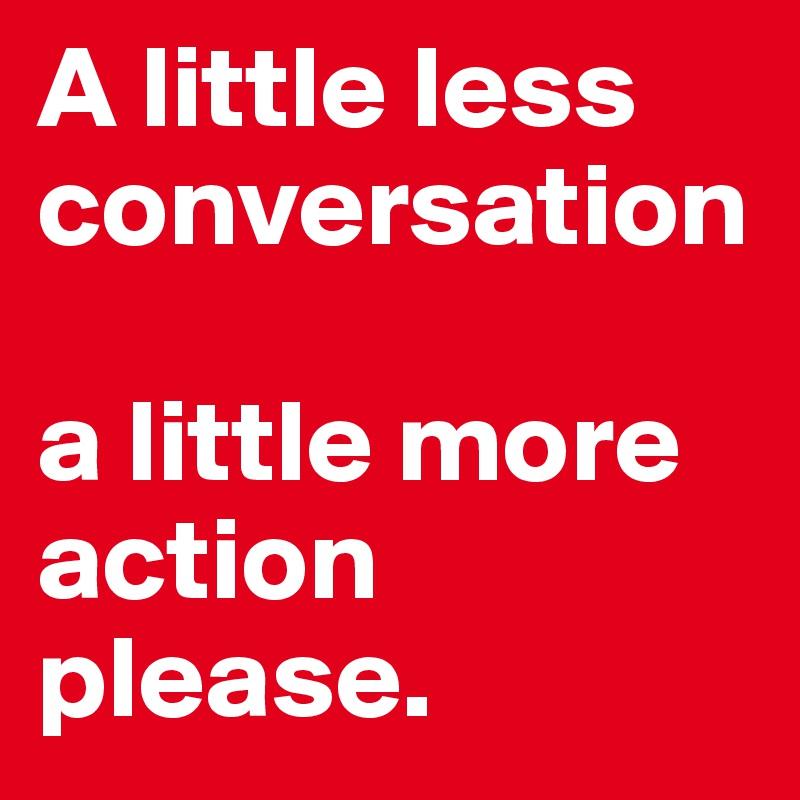ELVIS PRESLEY - A LITTLE LESS CONVERSATION LYRICS