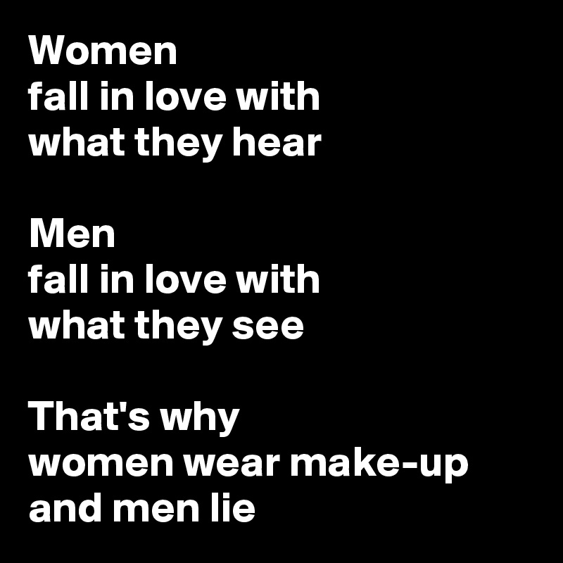 What Makes Women Fall In Love