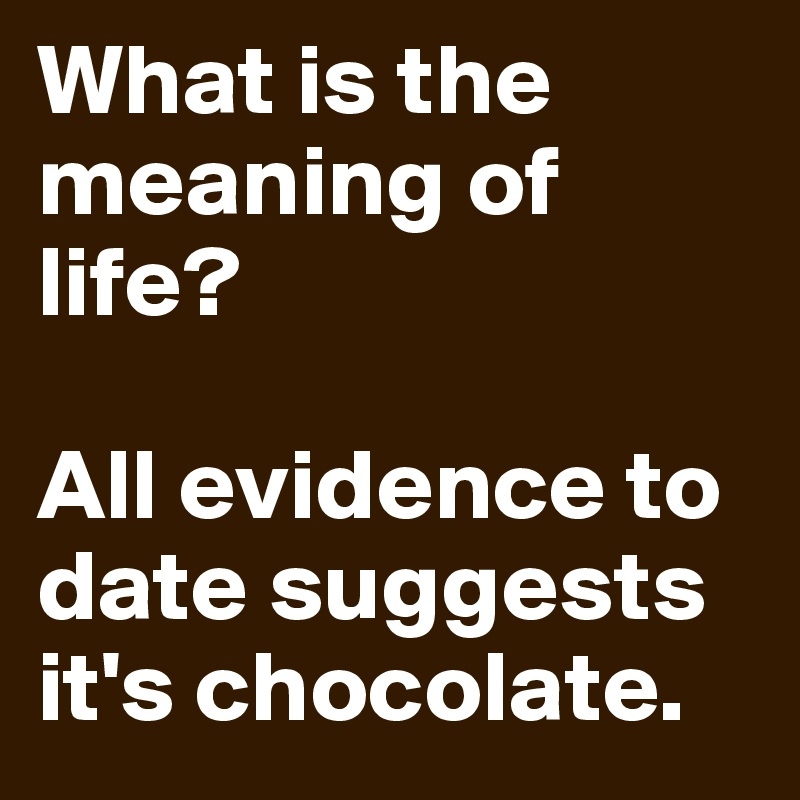 what is the meaning of evidence
