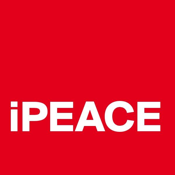 iPEACE