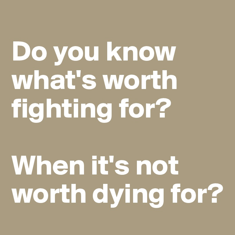 Whats It Worth For You