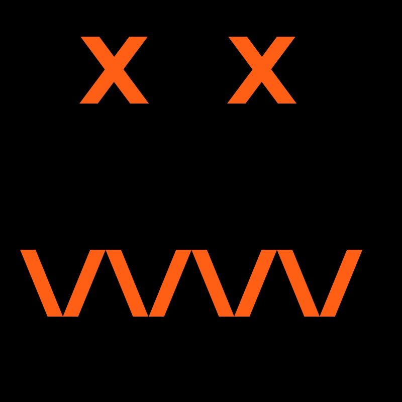 X    X  \/\/\/\/