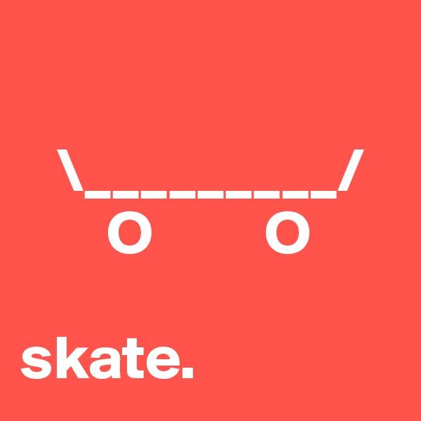\_________/        O         O  skate.