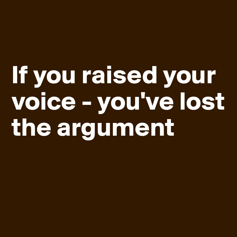 how to keep your voice lost