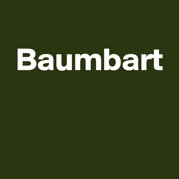 Baumbart