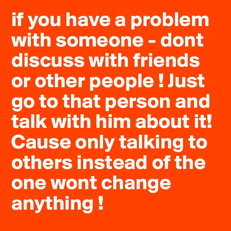 talk with him or talk to him