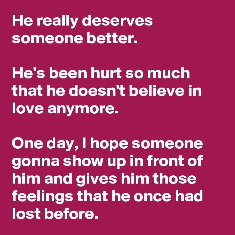 i still love him and it hurts