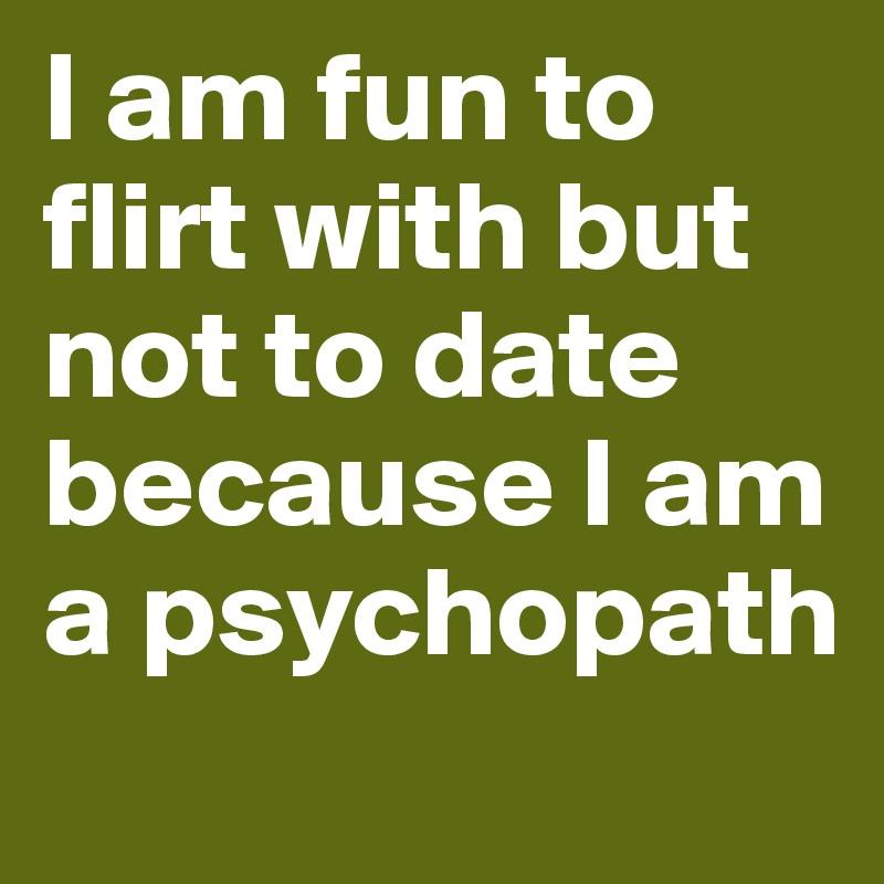i am flirter