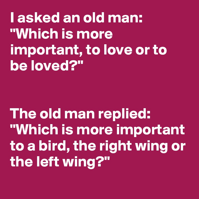 Image result for love or be loved