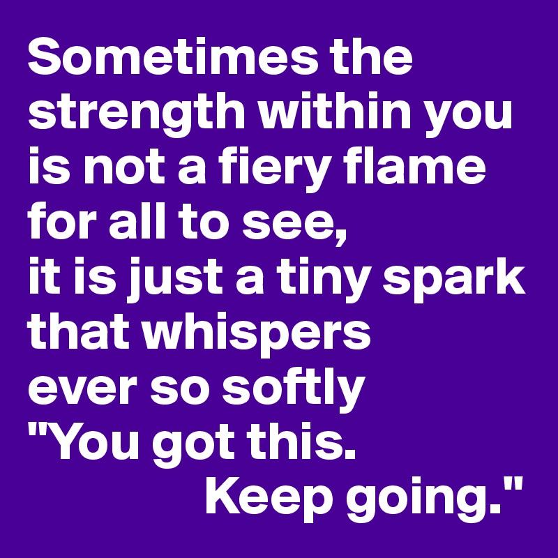 Fiery Strength