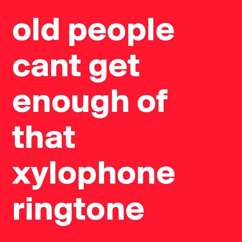 ringtone xylophone