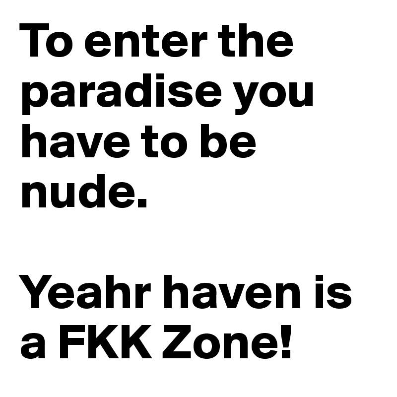 Pics fkk nude Why This