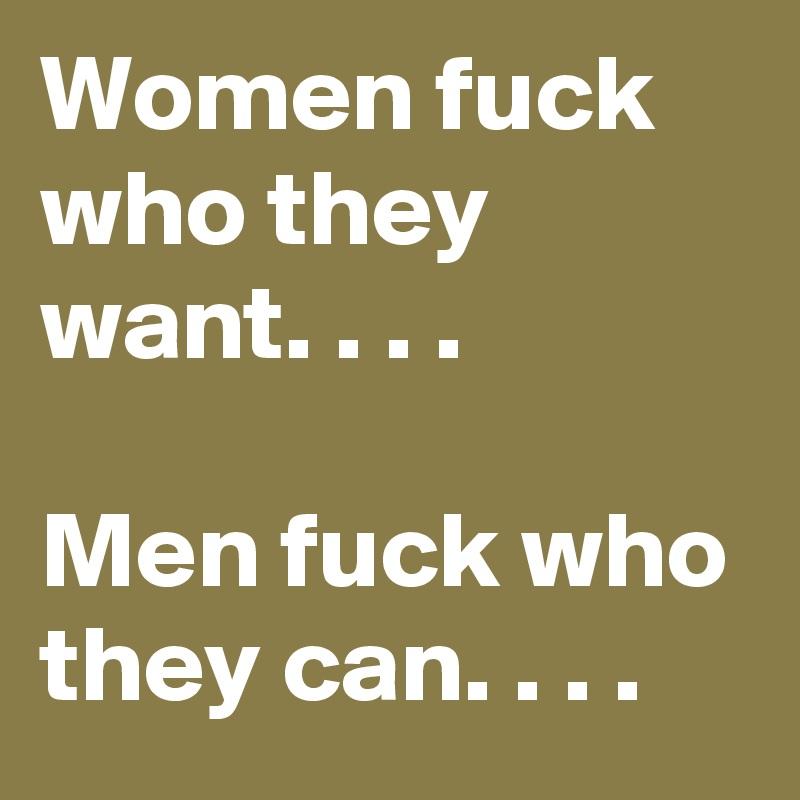 Men who want men