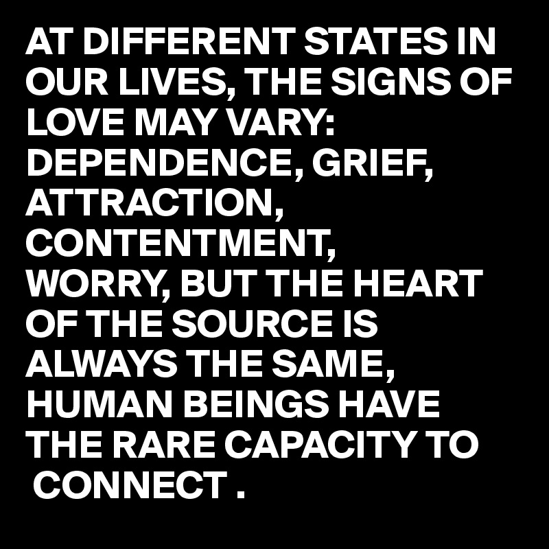 signs of human attraction
