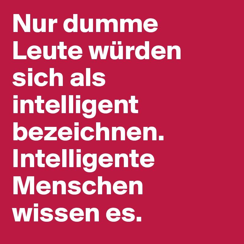 Intelligente Menschen Einsam