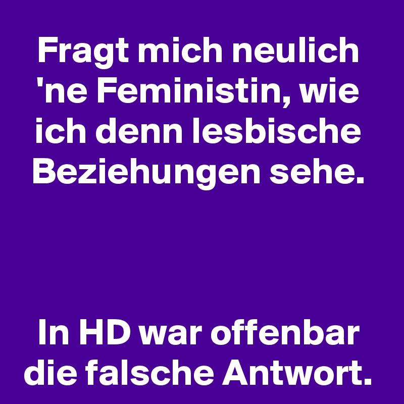 HD lesbische