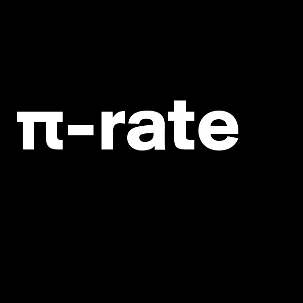 p-rate
