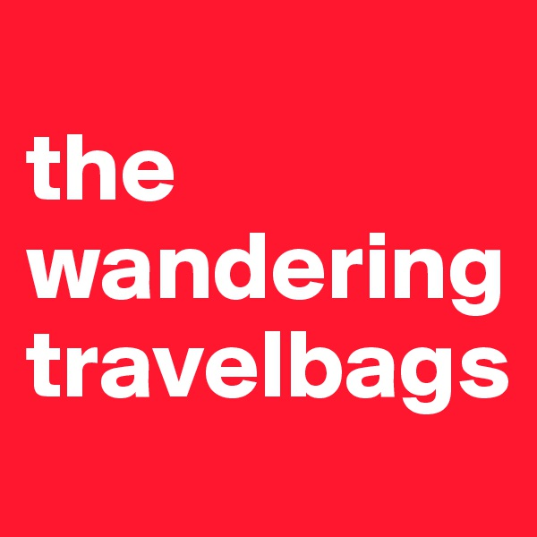 the wandering travelbags