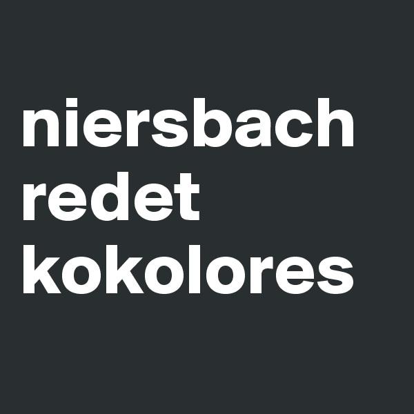 niersbach redet kokolores
