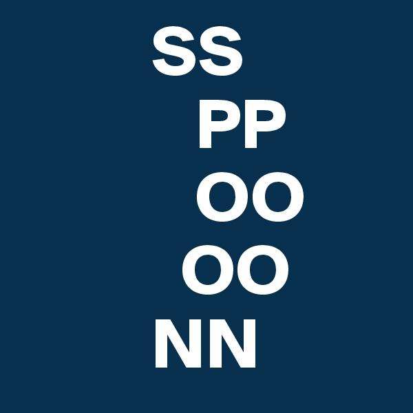 SS             PP             OO            OO          NN