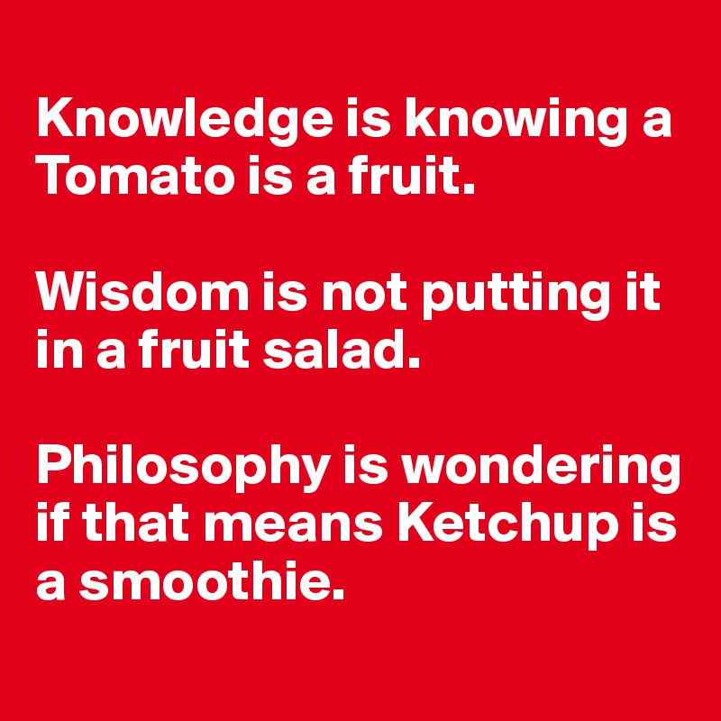 tomato fruit is a tomato a fruit