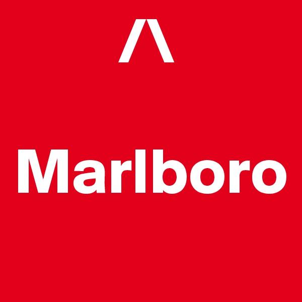 /\  Marlboro