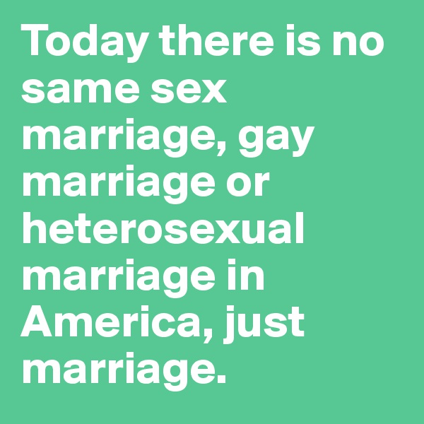 from Carl fundamental perspective on gay marriage